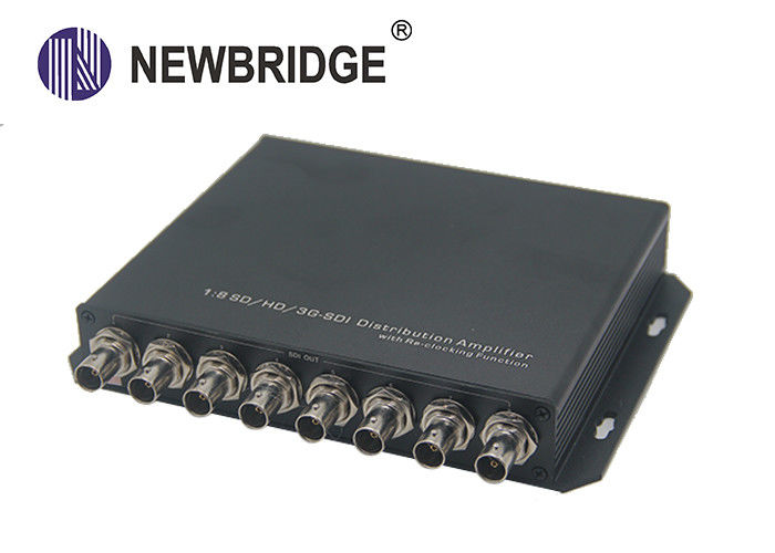 1x8 HD SDI Distribution Amplifier Support Re-Clocking